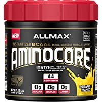 Preisvergleich für ALLMAX Nutrition, AminoCore BCAA Pineapple Mango 462g