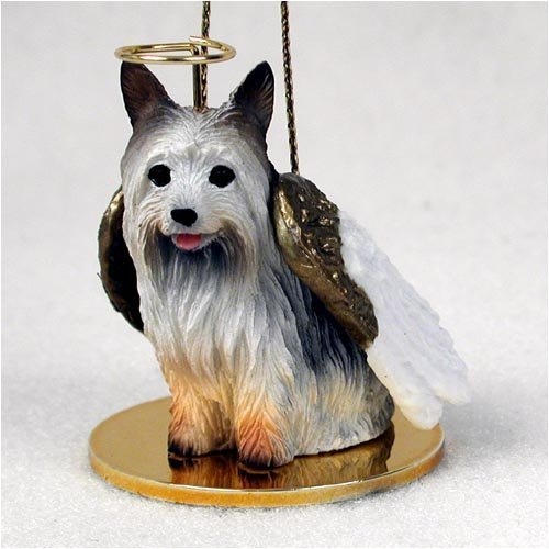 Silky Terrier Angel Dog Ornament by Conversation Concepts -