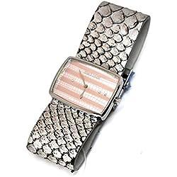 Roberto Cavalli Reloj en piel gris rcds60j0pk