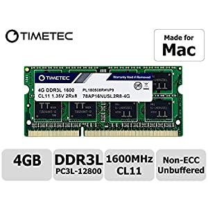 Timetec-Hynix-IC-Apple-DDR3-1600MHz-PC3-12800-SODIMM-Memory-Upgrade-For-MacBook-Pro-13-inch15-inch-Mid-2012-iMac-215-inch-Late-2012Early-201327-inch-Late-2012-2013Retina-5K-display-Late-2014Mid-2015Ma