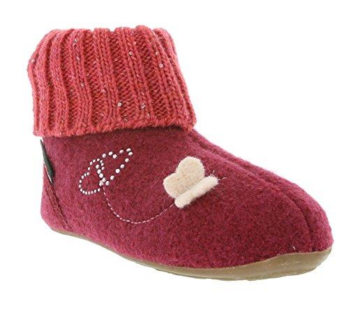 Haflinger Everest Venus 483049 Chaussons fille pink