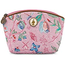 Pip studio spring to life cosmetic bag, Pink, 24 x 12 cm