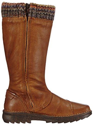 Camel Active 210-24 Ontario Schuhe Damen Stiefel Wollfutter Braun