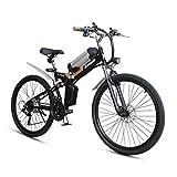 SZPDD Vélo électrique, vélo de Montagne électrique Pliable de 26 Pouces,...