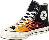 Converse Chuck 70 Archive Uomo Nero/Flame Hi Sneaker-UK 9 / EU 42.5