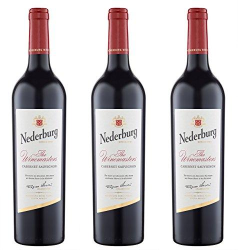 Nederburg The Winemasters Cabernet Sauvignon Selection 2014/2016 Trocken (3 x 0.75 l)