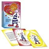"""Oups-Karten: """"Oups Herzensübungen"""":Herzensübungen sind Übungen, Spiele und Bilderreisen, für Kinder, die selbstbewusst und stark sein möchten. Die Herz strahlen lässt.warm im Bauch anfühlen"""