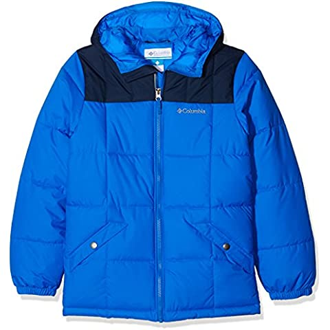 Columbia Gyroslope - Chaqueta con aislamiento para niño, color azul, talla L