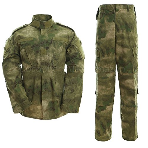 ALK Paintball Camo Uniform Sets Jacket Pant (A TACS for sale  Delivered anywhere in UK