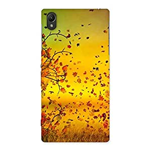NEO WORLD Remarkable Autumn Leaves Back Case Cover for Sony Xperia Z1