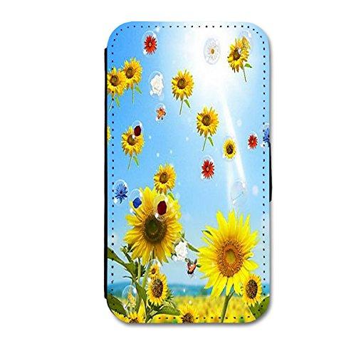 """Book Style Flip Handy Tasche Case Schutz Hülle Schale Motiv Etui für Apple iPhone 6 - 4,7"""" - A11 Design2 Design 4"""