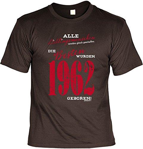 T-Shirt zum 54. Geburtstag - Laiberl Geschenk zum 54 Geburtstag 54 Jahre Geburtstagsgeschenk 54-jähriger Papa Lieblingsmenschen ... 1962 Braun