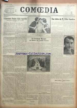 COMOEDIA [No 4186] du 05/06/1924 - CONTR...