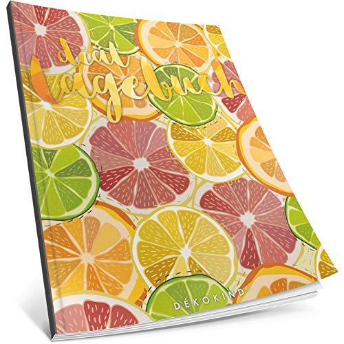 Dékokind® Diät-Tagebuch: Clevere 90 Tage Challenge zum Abnehmen || Das Abnehmtagebuch / Ernährungstagebuch zum Ausfüllen || C_23