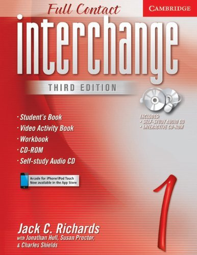 Interchange Full Contact 1 Student's Book with Audio CD/CD-ROM (No. 1) by Jack C. Richards (2005-01-17)