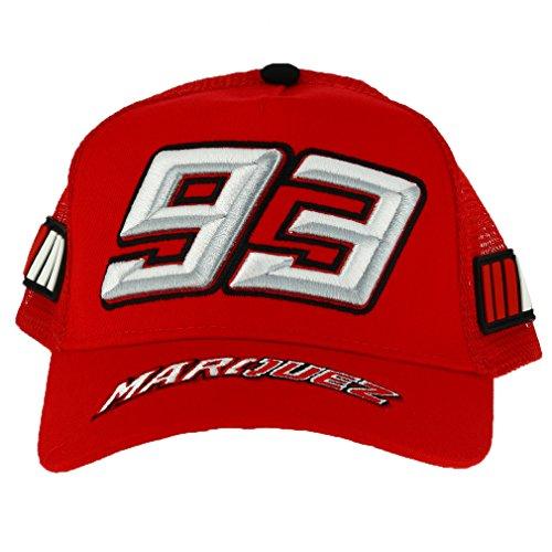 Marc Marquez 93 Moto GP Niños Trucker Rojo Baseball