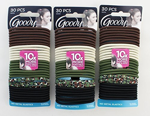 goody-ouchless-elastics-30-count-camouflage-pack-of-3-by-goody