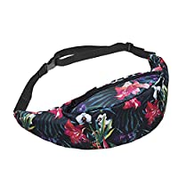 Funny Bum Bags Company Š Printed Bum Bags 3D Print/Motive/Design One Size Unisex Spring Summer 2017 (WILD FLOWERS 40741)