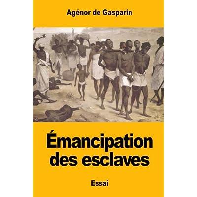 Émancipation des esclaves