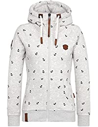 Naketano Female Zipped Jacket Preiselbeeren Camembert