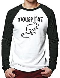 HotScamp Mouse Rat Men Baseball Top