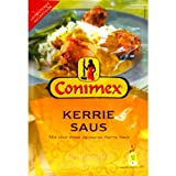Conimex für Curry Sauce Mix (bag) Curry-Sauce / Andere für Javaner milde Currysauce 6 Beutel x 1.4 / 40gr mischen