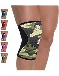 Rehband, Tutore ginocchio in neoprene, Multicolore (Camouflage), M