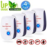FIOLOM Electronic Pest Repellent, Ultrasonic Pest Repeller Indoor Plug In Pest Control