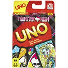 Mattel t8233 – Uno Monster High, Gioco di carte