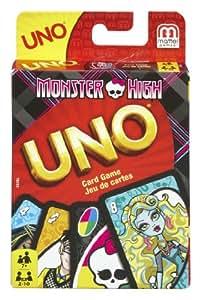 Uno - T8233 - Jeu de Société - Monster High