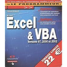 Excel 2002 et VBA