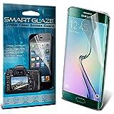 SmartGlaze ( Pack Of 6 ) Samsung Galaxy S6 Edge Specifically Designed Crystal Clear Premium-LCD-Display-Schutzfolien-Packs mit Poliertuch & Application-Karte