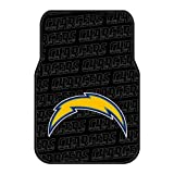 NFL San Diego Chargers Two-Pack Front Car Floor Mat