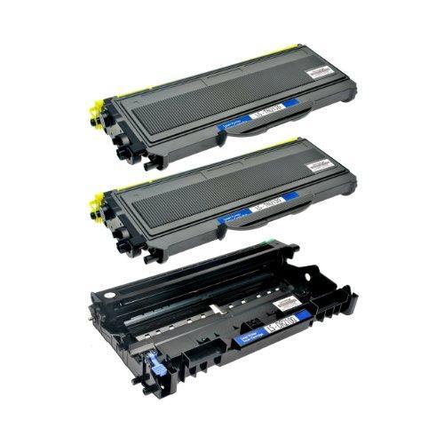 Preisvergleich Produktbild 2 Toner + Trommel für Brother TN-2120 XL DR2100 DCP-7030 7040 N HL-2140 2150 2170 N NR W WR MFC-7340 7320 7440 7840 W N