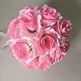 elegantstunning Hochzeit Blumenball Blumenkugel Kunstblumen Blumen Rose Kunstrose