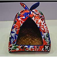 Generic Dog House 5, 46x46x43cm : New Dog House 6 Colors Breathable Pets dog house bed Waterproof Sleeping Bag Dog Beds 36x36x33/46x46x43cm Camas Para Perros