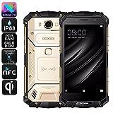 DOOGEE S60 - 5,2 Zoll FHD Wasserdicht / Shockproof 4G Smartphone, 5580mAh Batterie 12V2A Schnelle Ladung (drahtlose Ladung unterstützt), Helio P25 2.5GHz Octa Core 6GB 64GB - Gold