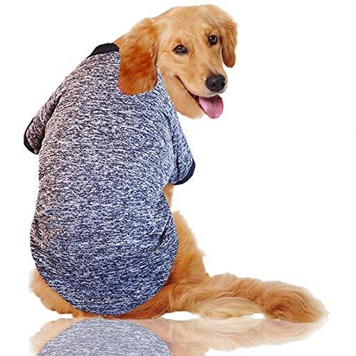 GHYSTORM XXXL-9XL großer Hund kleidet Winter-große Größe Haustier-Kleidung-golden Retriever-Hundemantel-Hemd festes Sweatshirt für - Golden Retriever Welpen Kostüm