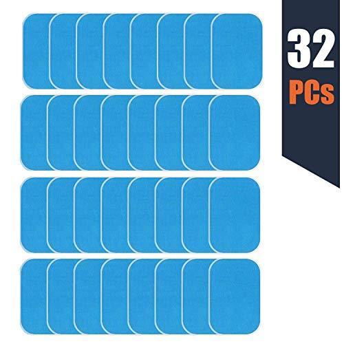 zociko EMS Gel Pad, Gel Pad für EMS Muskelstimulator Ersatzteile für Bauchmuskulatur-Geräte/Elektrischer Muskelstimulation/Elektrostimulation/EMS-Training/EMS-Gerät Neue Verpackung