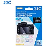 JJC GSP-D7500 PET Ultra Thin Polycarbonate LCD Optical Glass Display Screen Protector for Nikon D7500 DSLR Digital Camera