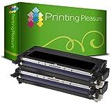 2er Set 593-10289 Schwarz Premium Toner Kompatibel für Dell 3130cn, 3130cdn