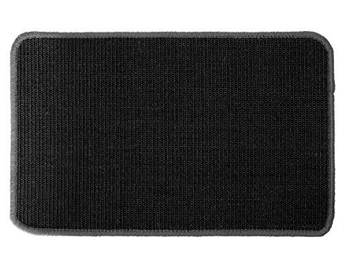 Primaflor - Ideen in Textil Katzen-Kratzmatte Katzenteppich - Schwarz 50 x 100 cm, Sisal, Rutschhemmend - Sisal-Matte, Geeignet für Fußbodenheizung, Sisalteppich für Wand & Boden