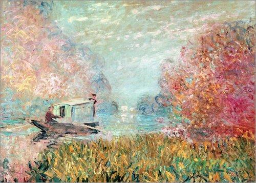 Posterlounge Lienzo 70 x 50 cm: The Boat Studio on