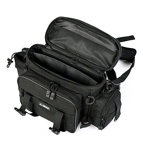 Tenggo esca artificiale multifunzionale borsa pesca borsa ipx4 impermeabile oxford panno waist bag borsa a tracolla
