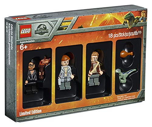 LEGO 5005255 Jurassic World Limited Edition Minifiguren Set Fallen Kingdom Film, Baby Blue Dinosaurier, Sammelspielzeug, lustiges Geschenk