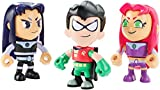 Pack 3 mini figuras Teen Titans Go
