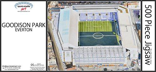 Goodison Park Stadia Fine Art Jigsaw Puzzle - Everton Football Club