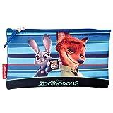 Disney Pixar Zootropolis Badge Astuccio (Blu)