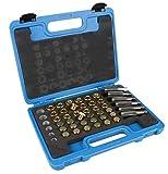 DAYUAN 114 Piezas M13 - M22 Kit de reparación de roscas para cárter Caja de Cambios de Drenaje Juego de Herramientas