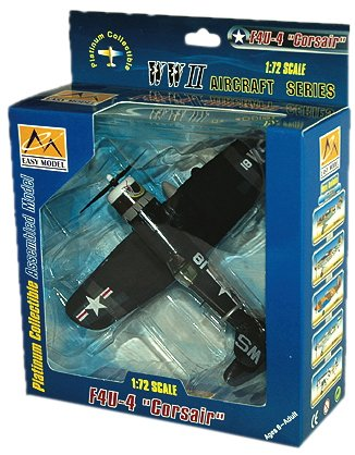 Daron Worldwide n-gociation EM37237 Easy Model F4U-4 VMF323 Usmc 1/72